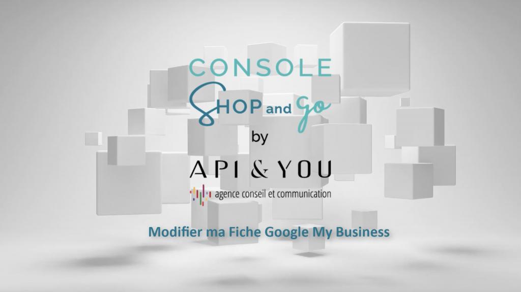 Console Shop & Go de l'agence Api & You : agence de conseil et de communication