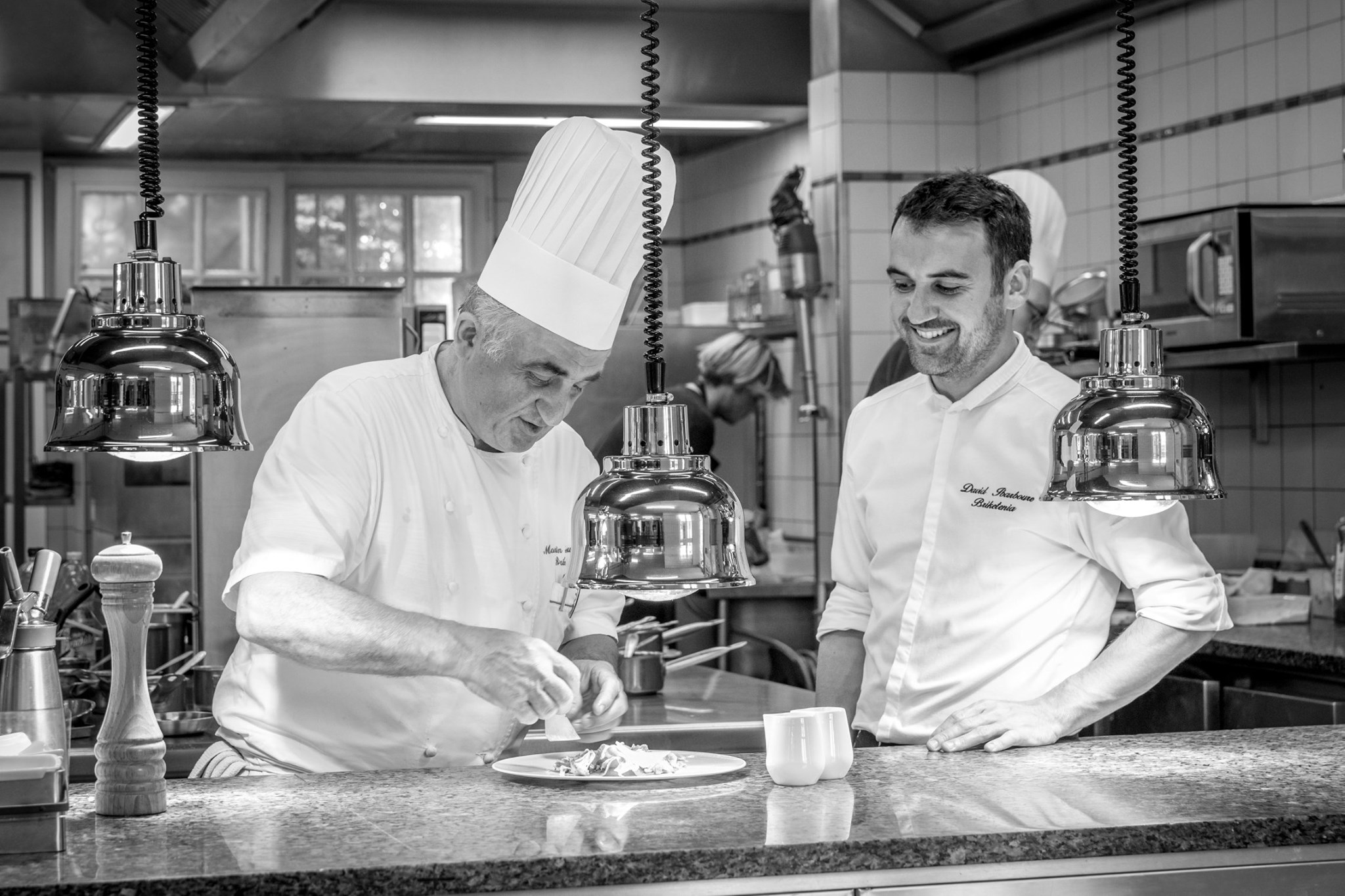 Martin et David Ibarboure, Briketenia Restaurant Hôtel